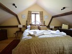 The charming double bedroom