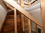 Staircase leading to Attic Double Bedroom