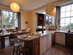 Kitchen/diner enjoys ample space