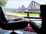View towards the Forth Bridge from the property
