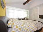 Big,bright and beautiful double bedroom
