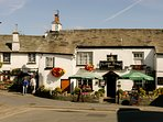 One of the 4 pubs in the village of Hawkshead