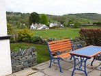 Sit and enjoy the countryside views