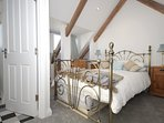 Pretty attic room with double bed