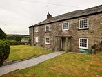 Shared garden area with far reaching countryside views
