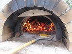 Shared pizza oven