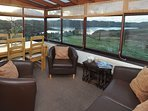Sun room with panoramic views