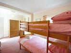 Bunk bedroom located on the ground floor