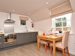 Enjoy dining in with magnificent views over Loch Earn