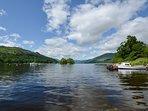 Beautiful summers day on Loch Earn