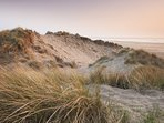 Saunton Beach and dunes, a short drive from the property