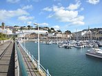 The harbour at Torquay