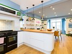 Cook up a storm in the grand open-plan kitchen
