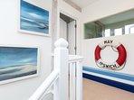 The nautical entrance to the snug room