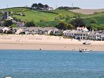 Views towards Instow from the nearby fishing village of Appledore