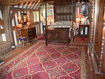 Elegant and sumptuous four poster bedroom
