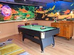 Lose a couple of hours with a game of pool or a glance at the papers