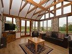 Stunning conservatory/lounge area