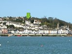 Views of the estuary and Instow from the property