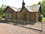 Views towards the stylish Victorian Lodge