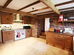 Handmade oak kitchen