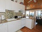 Kitchen has Ocean Views