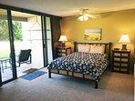 Master Bedroom Opens to Lanai