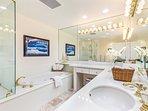 Incredible master bathroom