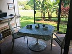Enjoy Breakfast Overlooking Garden and Golf Course