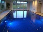Communal indoor pool