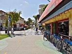 Local Newport Beach Pier area
