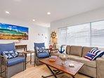 Unit B: Living room