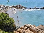Our adorable cottage is just 1/2 block to this beach in Corona Del Mar!