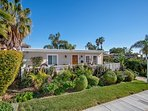 This beach cottage vacation rental is located in a beautiful residential area of South West San Clemente.
