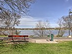 You'll love the easy access to Woodlawn Lake Park across the street.