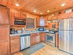 The chef of your group will love this fully equipped kitchen.