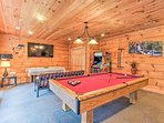 The game room provides endless fun!