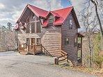 This 4-bedroom, 4-bathroom vacation rental cabin sleeps 11!