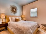 The second bedroom provides comfortable accommodations for 2 in a well-designed sleeping space.