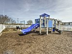 Even take the kiddos out to play on the local playground!