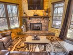 Gas Fireplace Living Area