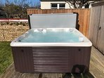 Hot tub installed March 2018
