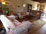 Gite Salon lounge area
