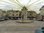 Place Gambetta, Eymet