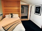 Thredbo Paringa Chalet Loft double bed