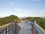 Your boardwalk to the beach!