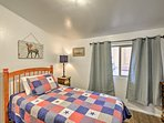 Perfect for kids, this room boasts a twin bed.