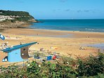 Benllech Beach a 5 minute drive away