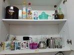 Vista armario cocina