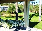 A beautiful photo opp is by the Clubhouse & Sarazen's Restaurant, a perfect pace for special events